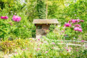 メルヘンな雰囲気の不思議な小屋